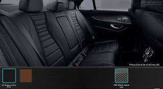 Nội thất Mercedes E300 AMG 2019 nhập khẩu màu Đen 811