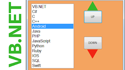 VB.Net Move Selected ListBox Item Up And Down