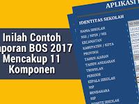 Inilah Contoh Laporan BOS 2017 Mencakup 11 Komponen Permendikbud