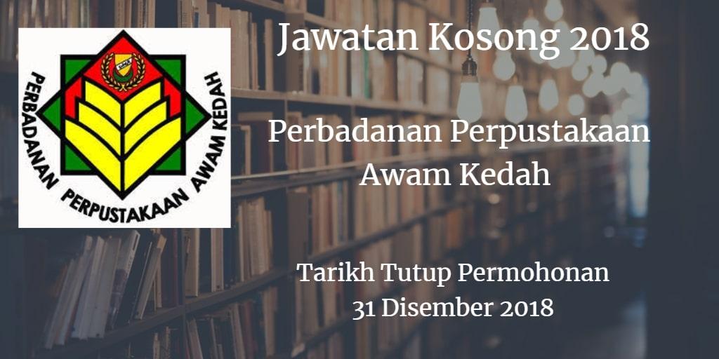 Jawatan Kosong PPAK 31 Disember 2018