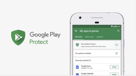 Google Play Protect Android O