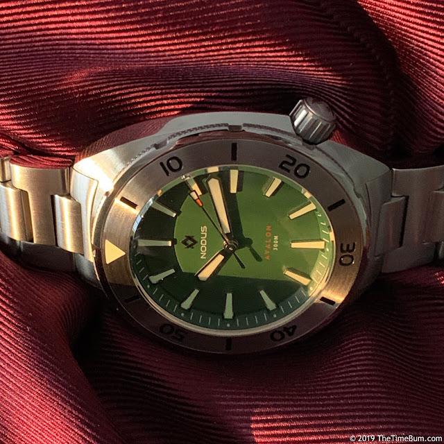 Nodus Avalon Clover Green