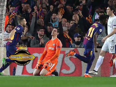 Ousmane Dembele Bantu Barcelona Menang Atas Chelsea
