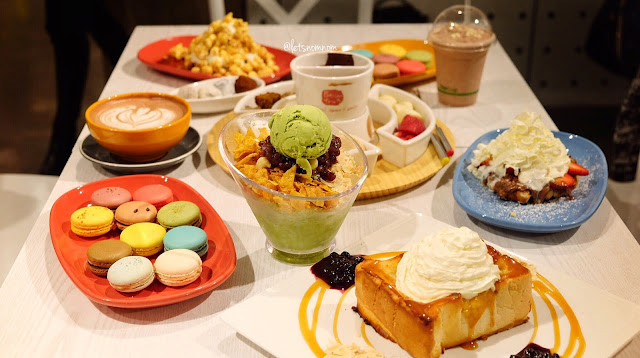 Dessert Feast at Passion Tree - Chatswood