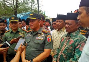Komandan Korem 081 Dhirotsaha Jaya Kolonel Inf Piek Budiakto