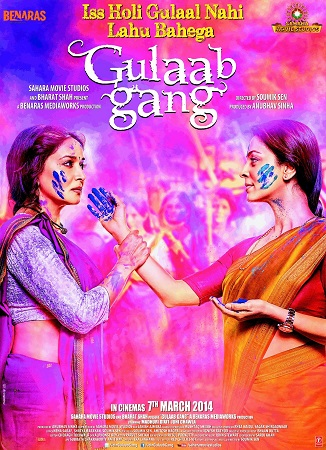 Poster Of Gulaab Gang 2014 Hindi 720p HDRip ESubs Free Download Watch Online