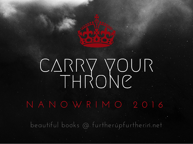Beautiful Books: <i>Carry Your Throne</i>