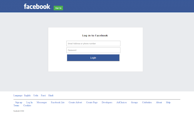 Facebook Phishing Page (Undetectable) | Real Phishing Pages