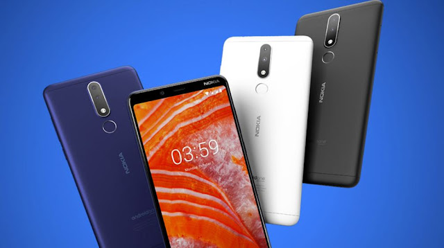 "Nokia 3.1 Plus DS - 6"" οθόνη dual sim οκταπύρηνο με διπλή κάμερα 13MP και Android One"