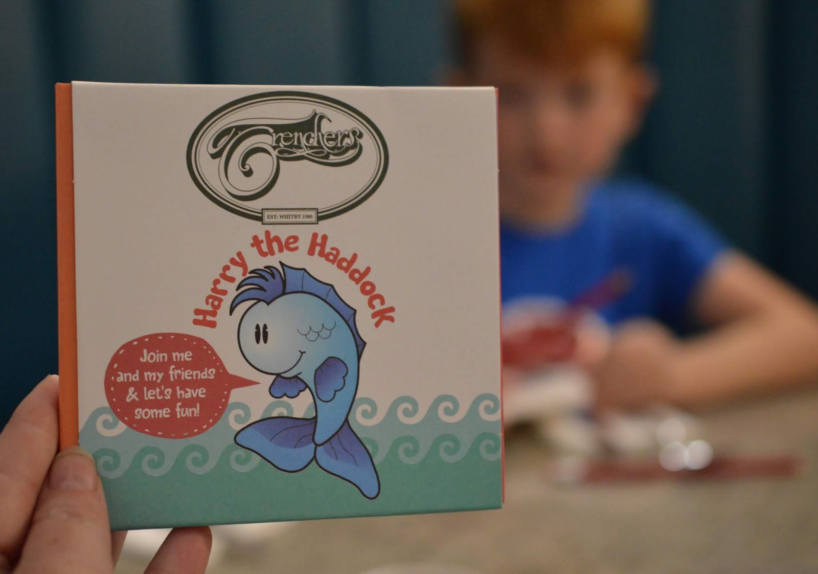 Fish and Chips with Kids at Trenchers, Spanish City - A Review - kids activity pack