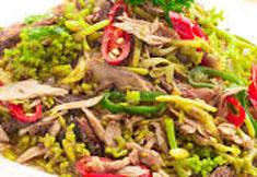 Resep masakan indonesia tumis bunga pepaya spesial (istimewa) praktis mudah sedap, nikmat, enak, gurih lezat