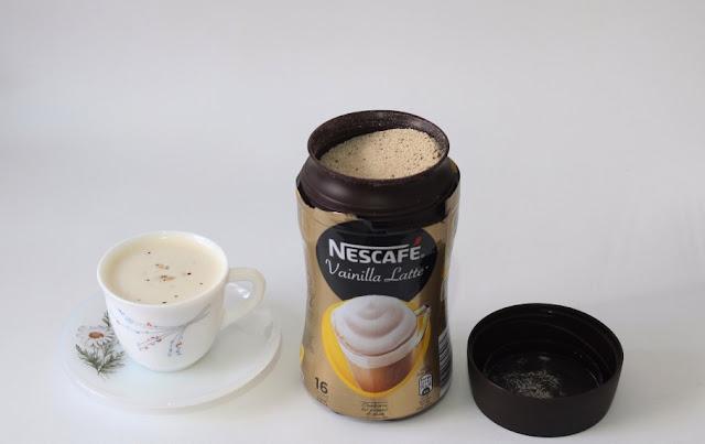 nescafe cappuccino vainilla