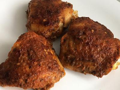 Kurczak pieczony w ketchupie