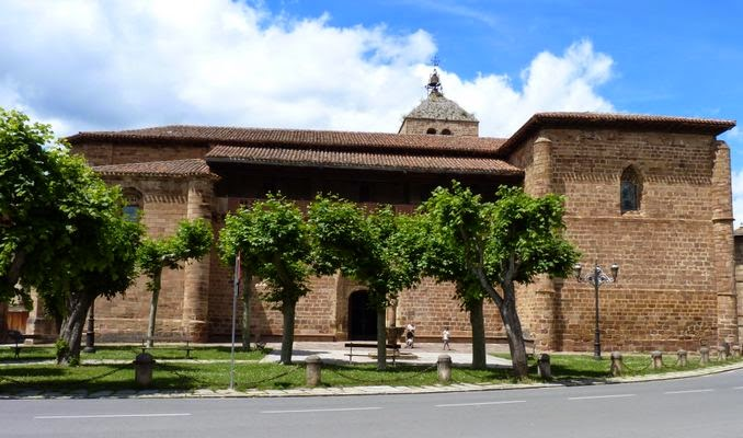 Ezcaray, Iglesia de Santa María la Mayor.