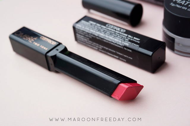 Review Two Tone Ombre Lipstick Catrice