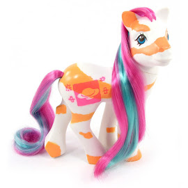 MLP Lovebeam Year Ten Colorswirl Ponies G1 Pony