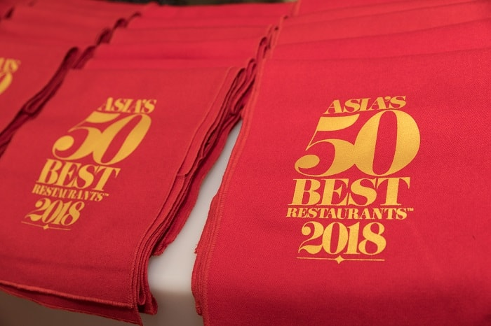 Asia's 50 Best Restaurants 2018