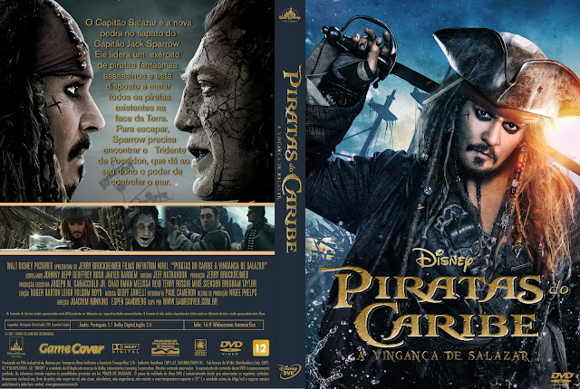 Capa DVD Piratas Do Caribe A Vingança De Salazar [Exclusiva]