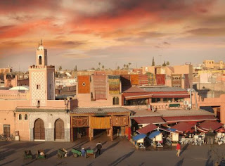 viajar a marrakech recien casados