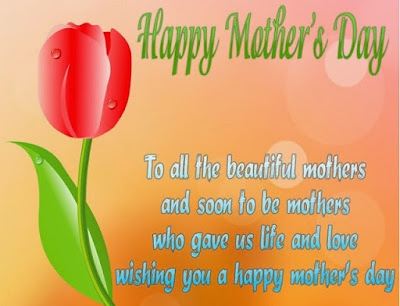 happy mothers day flowers wish love