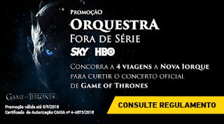 Promoção Orquestra Fora de Série SKY e HBO