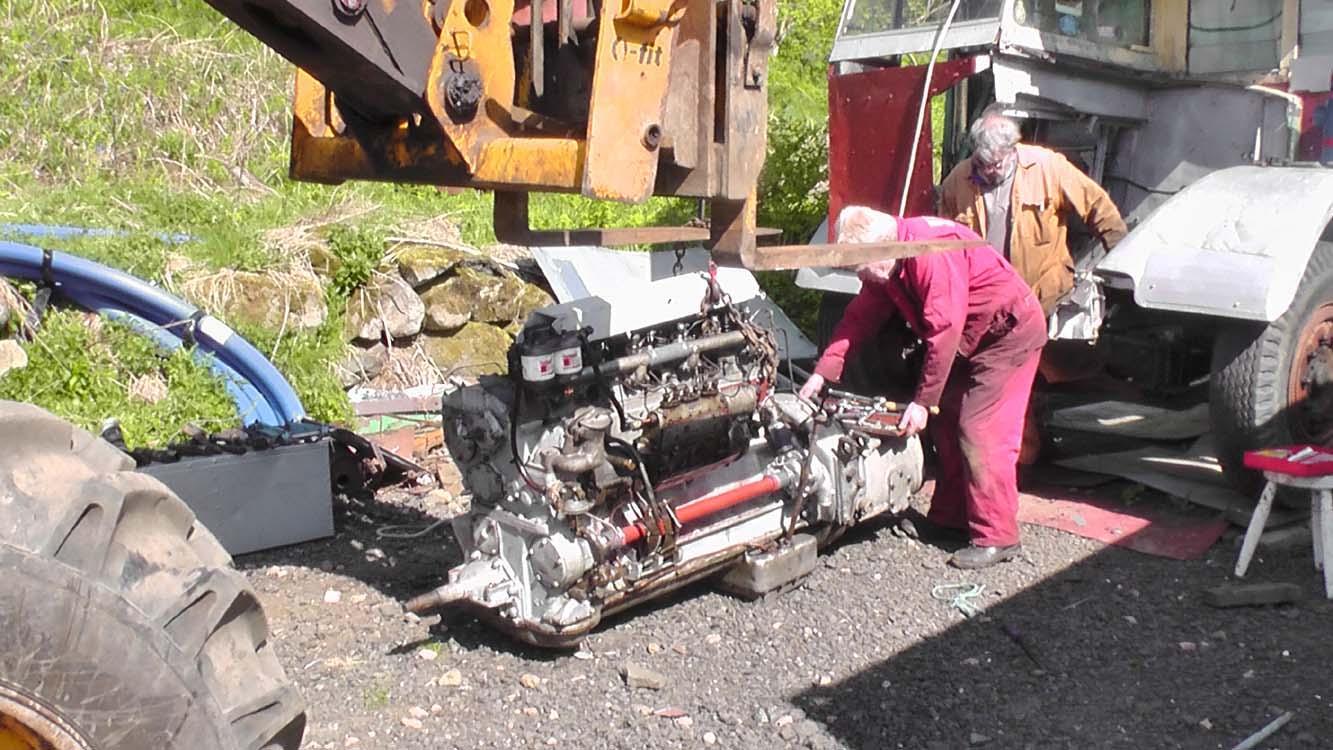 Albert the Albion Bus: Rescue Restore and Repatriate 2012