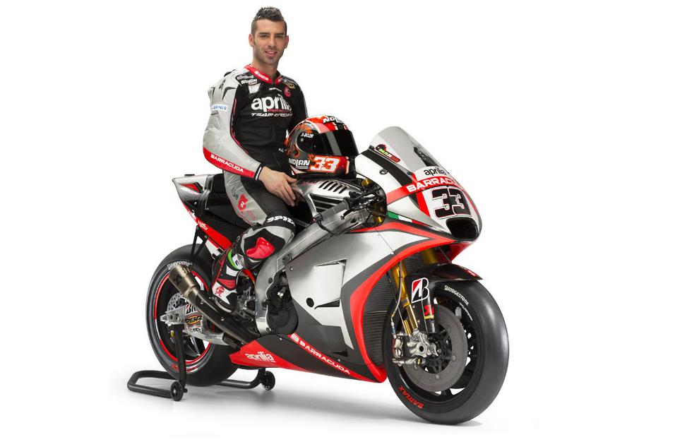 MotoGP : Ini livery tim Aprilia Gresini di MotoGP musim 2015
