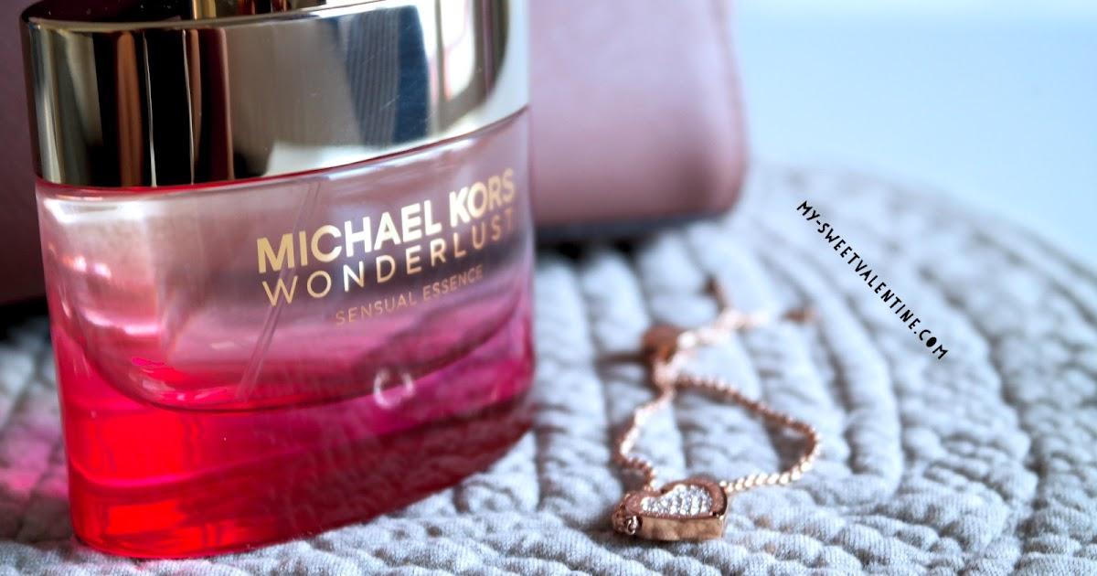78832a8a9556 My sweet valentine  Michael Kors launches its new feminine fragrance WONDERLUST  Sensual Essence