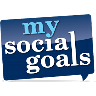 Take up a social goal and try to advertise it on your blog