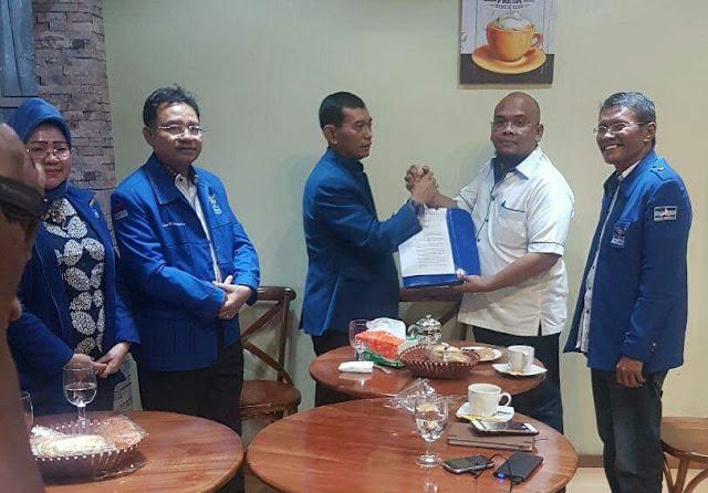 Ini SK DPP Partai Demokrat Copot Eliakim Simanjuntak dan Menghunjuk Marulitua Hutapea,SE