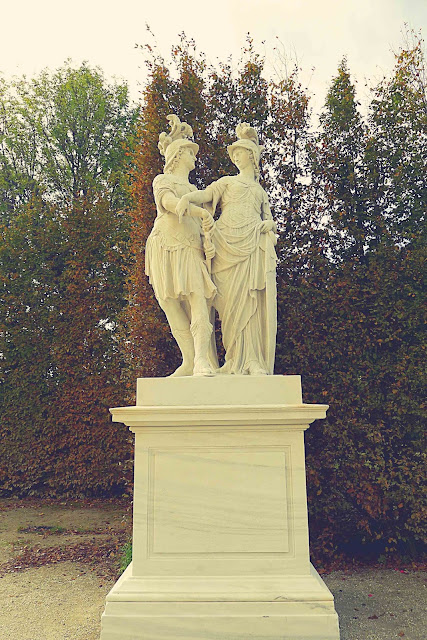 Schonbrunn Palace Mars and Minerva