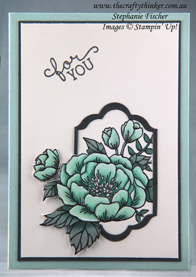 #thecraftythinker, #stampinup, #cardmaking, #stampinblends, #rubberstamping, Stampin' Blends, Birthday Blooms, Stampin' Up Australia Demonstrator, Stephanie Fischer, Sydney NSW