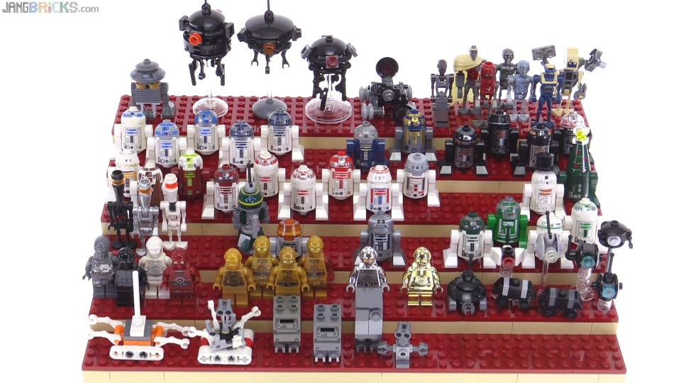 my incomplete lego star wars droid collection so far feb 2016. Black Bedroom Furniture Sets. Home Design Ideas