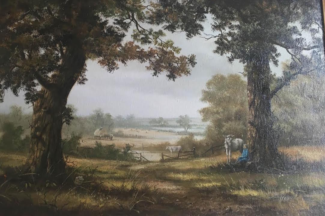 Robert Ixer Landscape Artist: This collector has 3 stunning works by ...