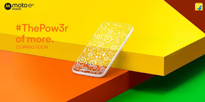 Moto E3 Power to launch exclusively on Flipkart