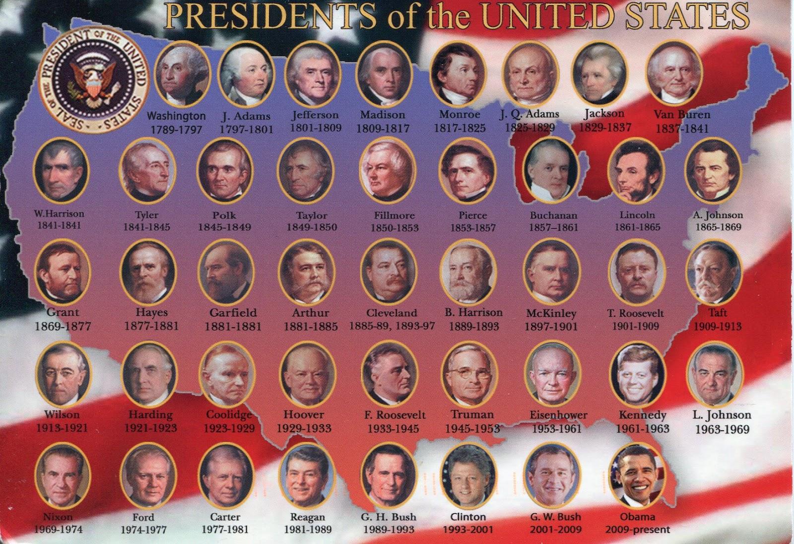 les-president-des-usa