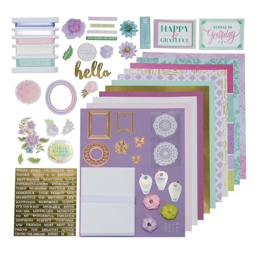 Spellbinders March 2018 Monthly Card Kit