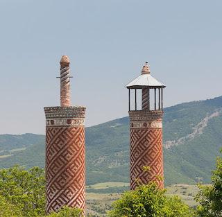 Minarets en Azerbaïdjan