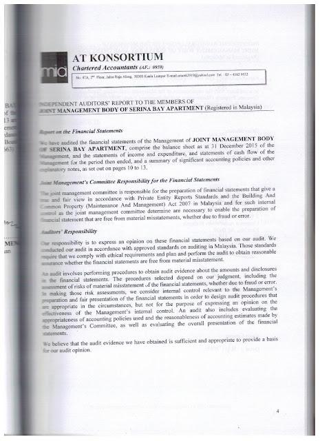 Serina Bay Apartment Penang Residence Complaint