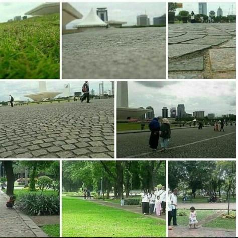 Monas Tetap Bersih dan Asri Usai Ditinggal Pergi Massa Reuni 212