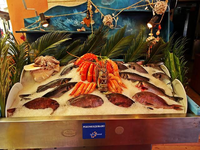 owoce morza co zjeść na Krecie?