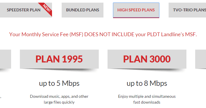 pldt business plan 10mbps