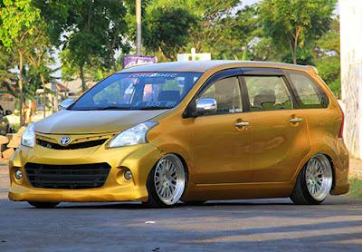 Toyota Avanza Modifikasi Velg
