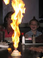 Hibachi Show in the Smokies