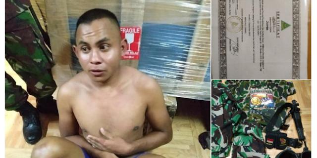 TNI AL Tangkap Orang yang Mengaku Anggota Marinir, Ternyata Oknum BANSER