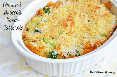 Chicken Broccoli Pasta Casserole #QuickFixCasseroles