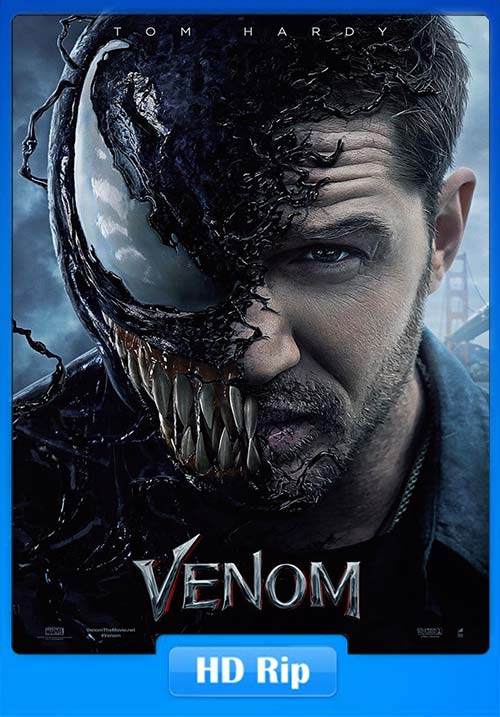 Venom 2018 BluRay 720p Telugu Tamil Hindi Eng x264 | 480p 300MB | 100MB HEVC Poster