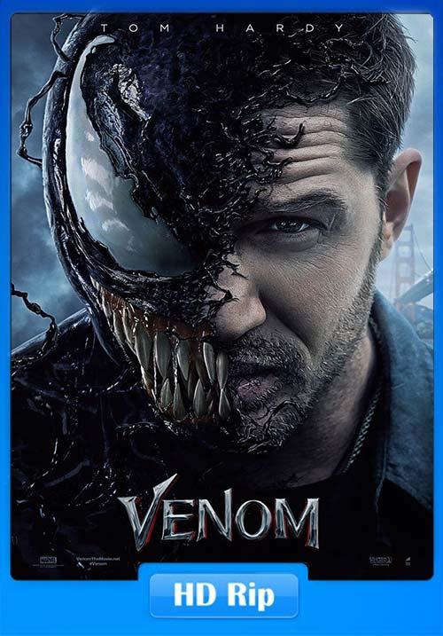 Venom 2018 BluRay 720p Telugu Tamil Hindi Eng x264 | 480p 300MB | 100MB HEVC