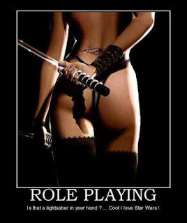 Star Wars, Femdom, Kink, BDSM, Sci Fi, dressing up, light sabre, role play