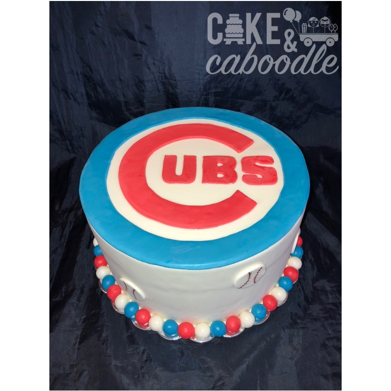 Cubs Baseball Cake Cake And Caboodle